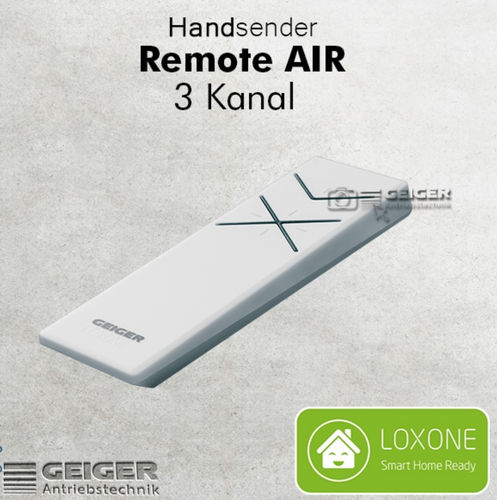 GF2900 - Handsender, 3 Kanal, Remote AIR weiss / Loxone